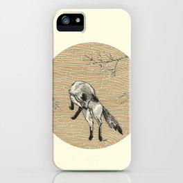 A fox iPhone Case