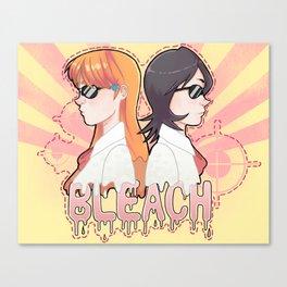 Bleach print 2 Canvas Print