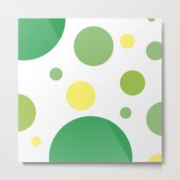 Green Smoothie Metal Print
