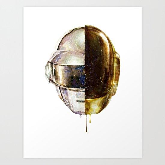 DAFTPUNK II Art Print