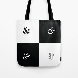 For the Love of Ampersand #1 Tote Bag