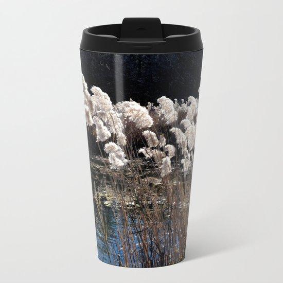 Cattails Metal Travel Mug
