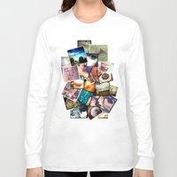 instagram Long Sleeve T-shirts featuring Instagram  by Nic Moore