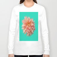 jewish Long Sleeve T-shirts featuring Flower Petals by Brown Eyed Lady