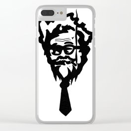 So fried! Clear iPhone Case