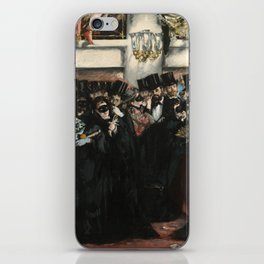 Edouard Manet, Masked Ball at the Opera, 1873 iPhone Skin