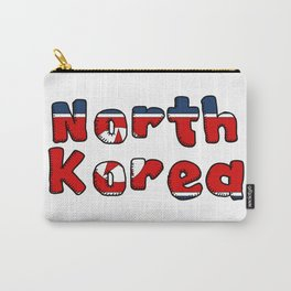 North Korea Font Carry-All Pouch