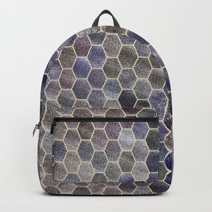 Glitter Tiles Backpack