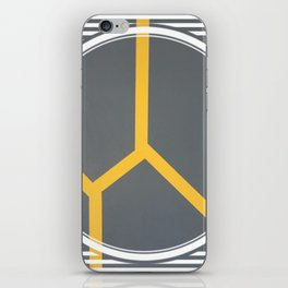 To Bee or Not - line graphic iPhone Skin