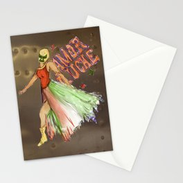 Amor Luche (Metal Style) Stationery Cards