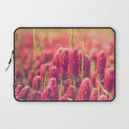 Crimson Clover Laptop Sleeve