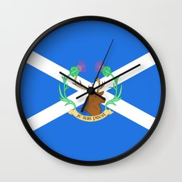 Clan Fraser Wall Clock