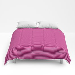 Pink stripes pattern Comforters