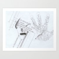 Pencil - 0006 - New Be Art Print