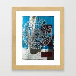 Dance Mandala Framed Art Print