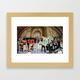 Idiocracy Framed Art Print