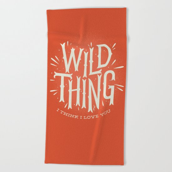 Wild Thing Beach Towel