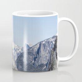 El Capitan, Half Dome and Sentinel Rock from Tunnel View Coffee Mug