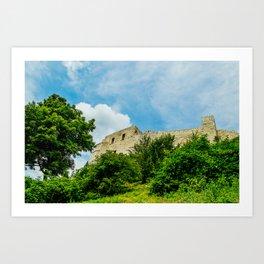 Castle in Kazimierz Dolny Art Print