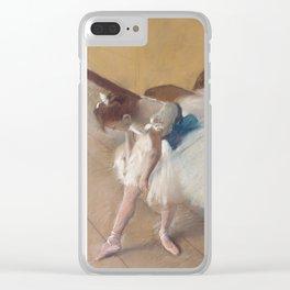 Edgar Degas - Dance Examination,1880 Clear iPhone Case