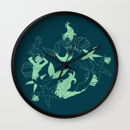 MerMama Wall Clock