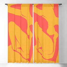 The Blue Nude in Hades by Henri Matisse Blackout Curtain