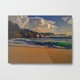 Point Lobos - Gibson Beach Metal Print