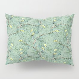 Pattern of pine branches and needles Pillow Sham