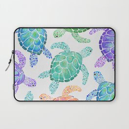 Sea Turtle - Colour Laptop Sleeve
