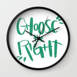 Choose the Right Wall Clock