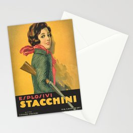 The Explosive Girl - 1929 Stationery Cards