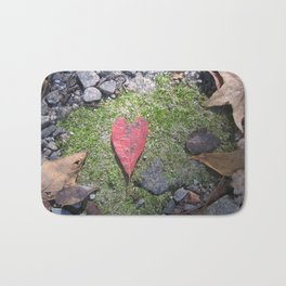 Heart Leaf Bath Mat