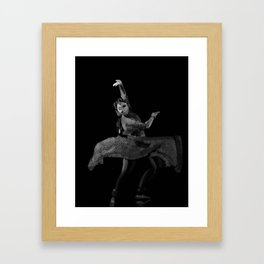 Kathak Dance flow… 193 Framed Art Print