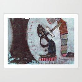 Present Art Print