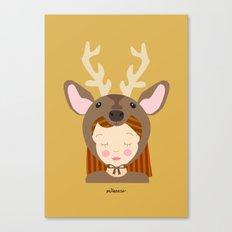 Like a deer.. Canvas Print