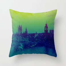 It's cold, but not gray Throw Pillow