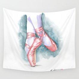 ballet sneaker Wall Tapestry