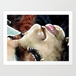 Beauty of Death  Art Print