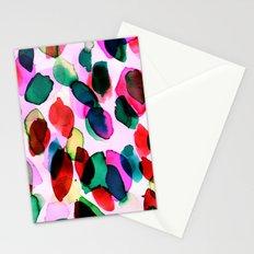 Rainbow Drizzle Jewel Stationery Cards