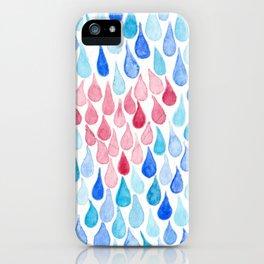 Rain, Rain, Go Away. iPhone Case