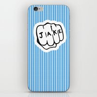 blues brothers iPhone & iPod Skins featuring [ Blues Brothers ] Joliet Jake John Belushi by Vyles