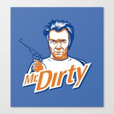 Mr. Dirty Harry Canvas Print