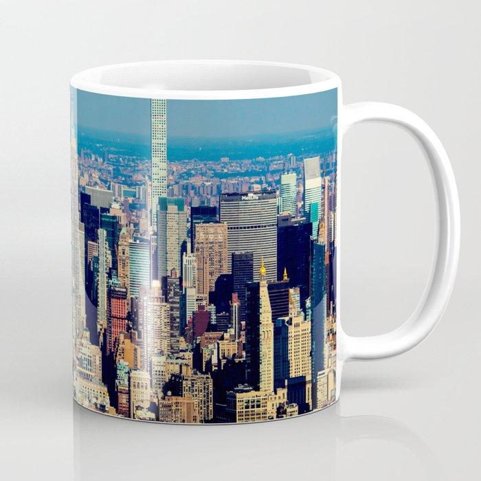 NYC Cityscape (Color) Coffee Mug