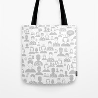 medical Tote Bags featuring Medical background by aleksander1