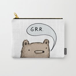 Growling Bear Carry-All Pouch