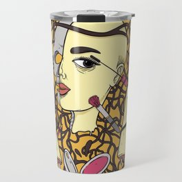 Make Up By Robot Woman Travel Mug