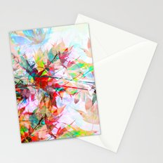 Abstract Autumn Stationery Cards