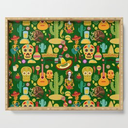 Fiesta Time! Mexican Icons Serving Tray