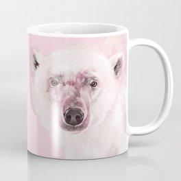 Polar Bear in Pink Coffee Mug