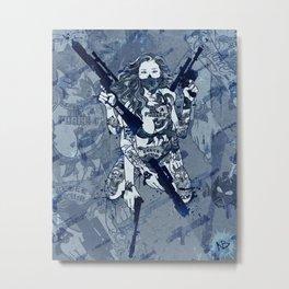 Westside Leia Metal Print
